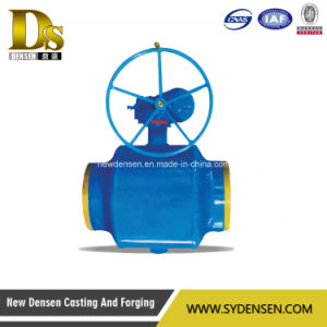 Electric Fully Welded Steel Ball Valve pictures & photos