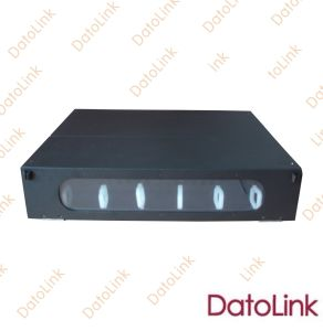 Fibre Optica Slidable Rack Mounted Type Patch Panel 24 Cores pictures & photos