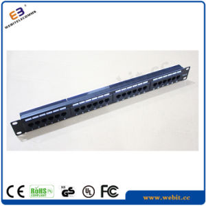 UTP Cat5e Patch Panel pictures & photos