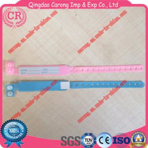 Hospital Medical Plastic Bracelets PVC Bracelet ID Band pictures & photos