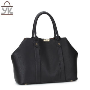 Big Size Fashion PU Leather Women Tote Designer Handbag pictures & photos