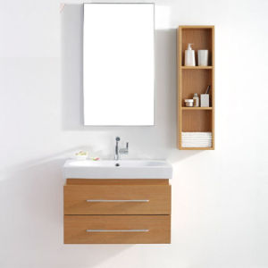China Customizable Solid Wood Undercounter Bathroom Vanity