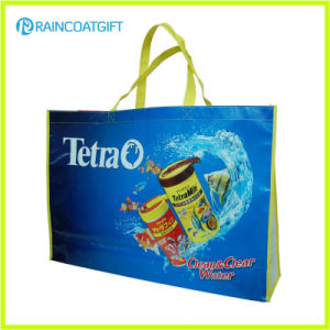 Promotional Full Logo Printing Laminated PP Non Woven Shopping Bag RGB-034 pictures & photos