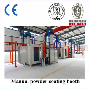 High Quality Manual Powder Coating Booth with ISO9001 pictures & photos