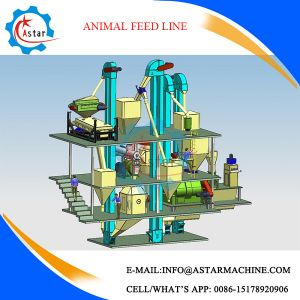 New Design Animal Chicken Poultry Feed Mill Line pictures & photos