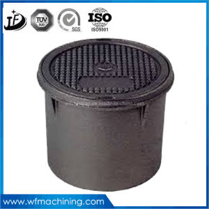 OEM Custom Sand Castings Cast Iron Manhole Cover with Frame pictures & photos