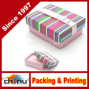 OEM Customized Paper Gift Jewelry Box (140001) pictures & photos