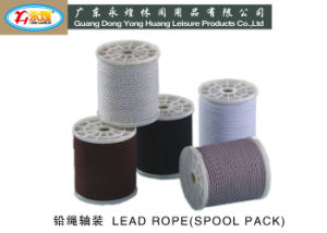 Spool Packing Buttom Rope of Curtain Apricot Braided Line pictures & photos