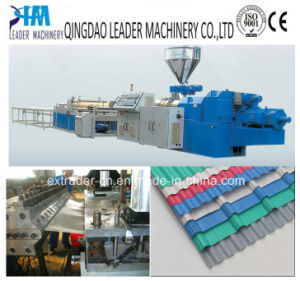 UPVC/PVC Corrugated Sheets Extrusion Machine pictures & photos