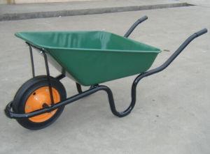Solid Wheel Building Wheelbarrow pictures & photos