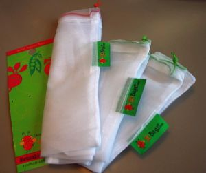 Reusable Protection Vegetable and Fruit Mesh Bag pictures & photos