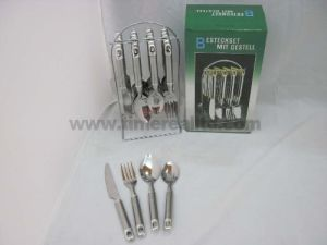 24PCS Stainless Steel Dinner Cutlery Set (CT24-S02) pictures & photos