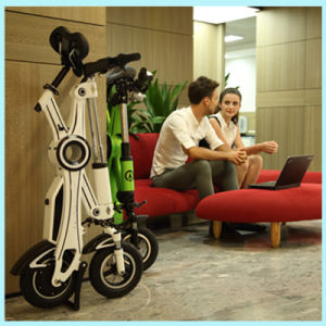 New Products 2016 Lithium Battery Chainless E Bike Two Wheel Mini Folding Electric Bicycle pictures & photos