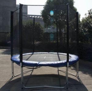 8foot Trampoline with Enclosure pictures & photos
