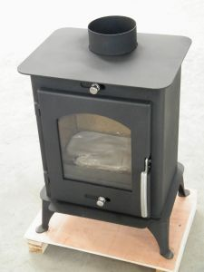 plate stove (DL007) - China steel plate stove, modern wood stoves