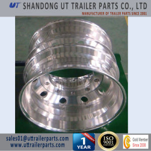 22.5X14 Machined and Polished Trailer Aluminum Alloy Wheel Rim pictures & photos