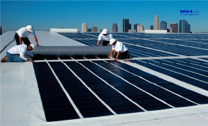 Thin Film a-Si Flexible Solar Laminate for Membrane Roofing pictures & photos