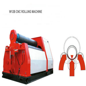 CNC Hydraulic Bending Rolling Machine for Metal Plate pictures & photos