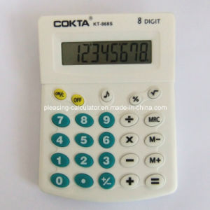 Colorful Character 8 Digits Desktop Calculator (KT-868S)