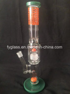 Multi Color Glass Water Pipe with Color Matrix Perc pictures & photos