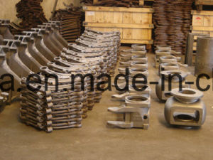 OEM Customize Flange Branch Ductile Iron Part pictures & photos