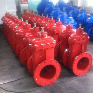 DIN3352 F4/F5 Resilient Seated Gate Valve with Flange Ends Non Rising Stem pictures & photos