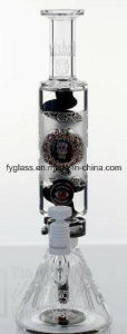 New Build Glass Water Pipe with Freezer Coil Perc pictures & photos