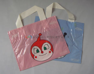 Soft Loop Handle Poly Bag/Plastic Packing Bag/Shopping Bag pictures & photos