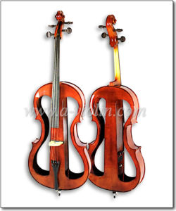 3 Band EQ S Shape Colorful Professional Electric Cello (CE230) pictures & photos