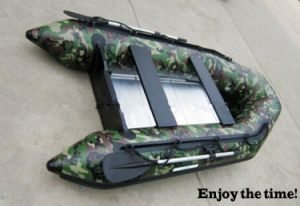 Camouflage Color Hot Sells Sm Series Inflatable Boat, Competitive Price PVC Boat, River Boat, Drifting Boat with CE China pictures & photos