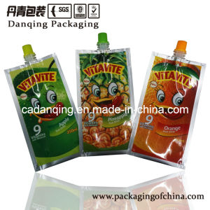 Fruit Juice Spouted Sachet, Aluminum Packaging pictures & photos