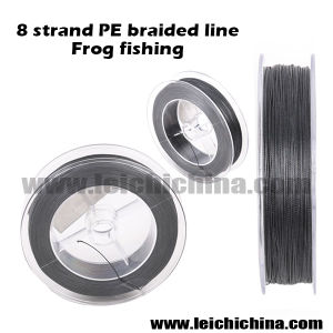 Factory Wholesale 8 Strand Braided Line Frog Fishing pictures & photos
