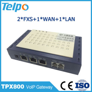 China Factory Call Waiting 2 Pots VoIP One FXS One Line ATA pictures & photos