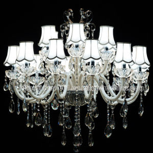 Traditional Design Crystal Chandelier Lighting for Hotel or Home (S-8023-12+6) pictures & photos