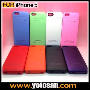 2200mAh Extended Back up Power Bank Mobile Battery Case for iPhone 5 5s pictures & photos