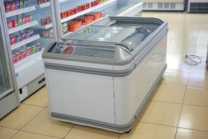 Supermarket Cold Display Island Freezer pictures & photos