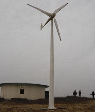 10kw Horizontal Axis Wind Generator System pictures & photos