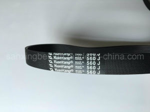 Moulded Elastic Poly V Belt / Pj for Roller Conveyor Machines for Interno for Packing Machines pictures & photos