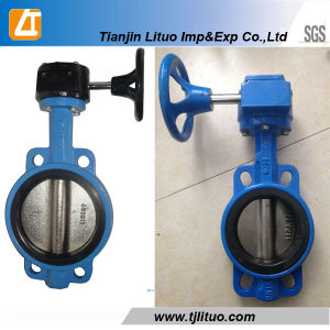 Wafer Butterfly Valve, 6 Inch Butterfly Valve pictures & photos