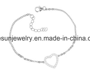 925 Silver Jewelry Simple Bracelet /Anklet pictures & photos