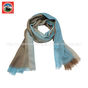 100%Yak Wool Silk / Cashmere / Camel Wool Scarf/Shawl pictures & photos