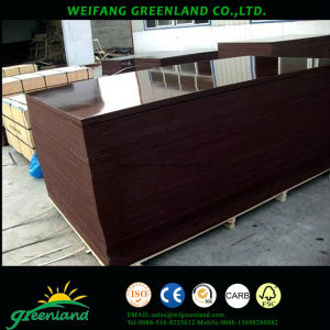 Hardwood Core Marine Plywood with Film for Construction pictures & photos