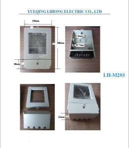 Single Phase Electricity Meter Case, Kwh Meter Box (LH-M203) pictures & photos