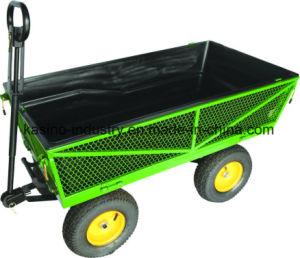 500kgs Capacity Garden Metal Mesh Cart/Dumping Utility Cart pictures & photos