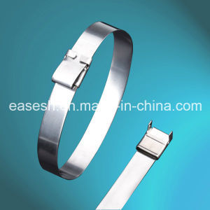 Wing-Lock Type Uncoated Ss 304 or 316 Metal Cable Ties pictures & photos