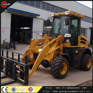 Zl10f Loader Mini Wheel Loader with Pallet Fork pictures & photos