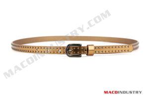 PU Studded Skinny Belt (Maco271)