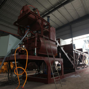 25cbm/H Mobile Concrete Mixing Plant (YHZS25) pictures & photos