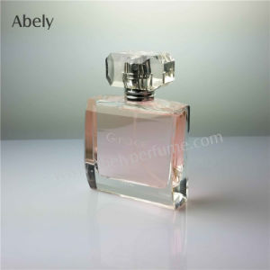 Best-Selling Polished Glass Perfume Bottle with Elegant Design pictures & photos