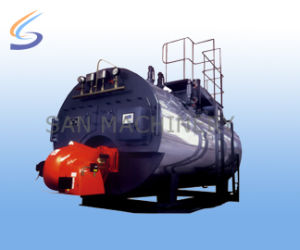 Automatic Oil (Gas) Fired ATM Pressure Hot Water Boiler pictures & photos